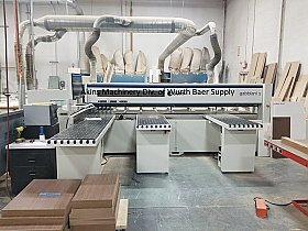 Gabbiani S115 (3800) front load beam saw