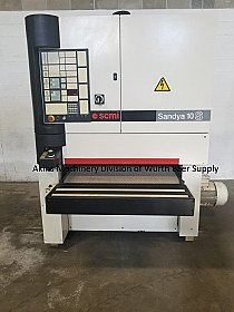 "SCM Sandya 10/S RCS 110 SW two head 43"" wide belt sander"