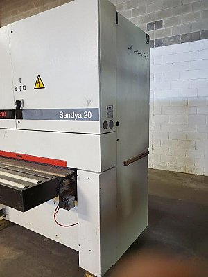 "SCM Sandya 20 RCS 135 VN two head 52"" wide belt sander"